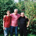 With Paul Higgs and Mitch Hiller the producers of my first 3 albums 2007